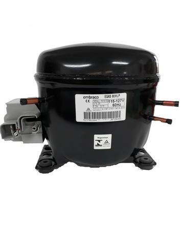 Compressor Embraco 1/4+ 127v R134a Egas 80 New