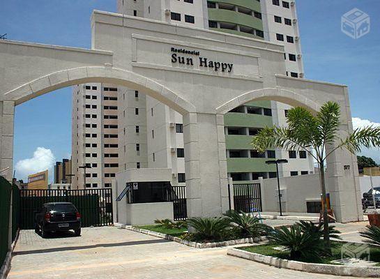 Apto de 3/4 com 85m2 no Sun Happy, andar baixo - R$249.000,00