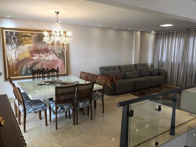 Apartamento duplex com 4 quartos, 320 m² - setor nova suiça - armarios - Foto 8
