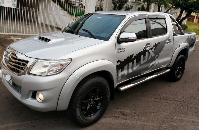 Barbada- Hilux ano 2013 em Ótimo Estado - 3.2 Diesel - Financio 100% e Aceito Trocas - Foto 6