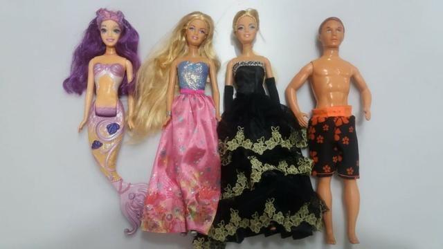 Lote bonecas barbies e boneco originais