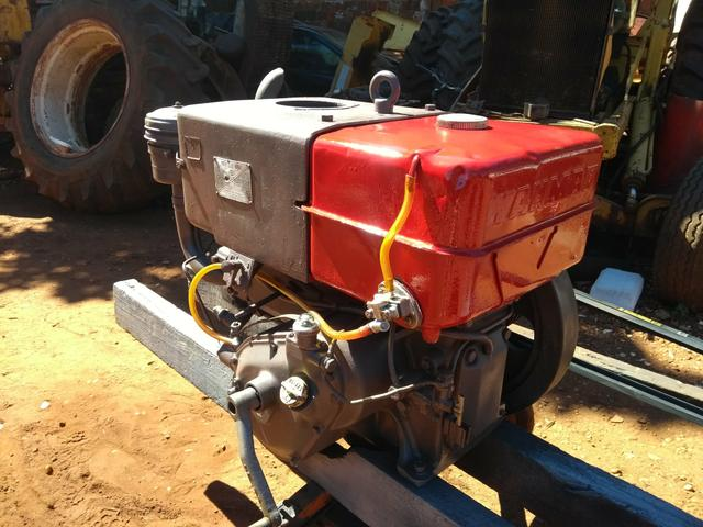 Conjunto de irrigação completo com motor nb13 motobomba