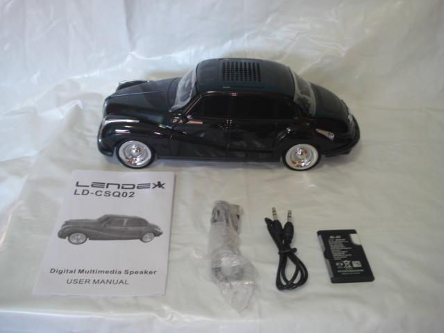 """Rádio com design de carro antigo ,marca Lendex mod. ld-csq2 Novo na caixa"""" - Foto 2"""