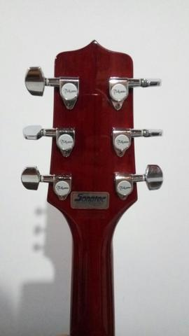 Violão Takamine eg530c seminovo made in Korea - Foto 6