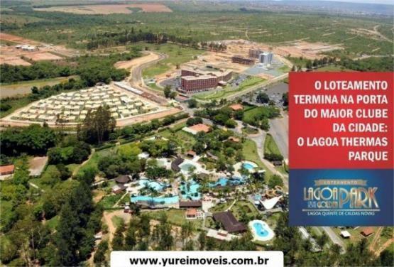 Lotes Parcelados área com 1.000 Mil metros - Lagoa Golden Park|Caldas Novas GO - Foto 4