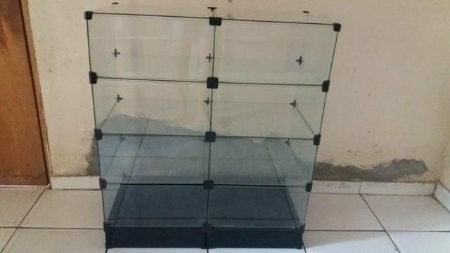 Vitrine vidro pequena