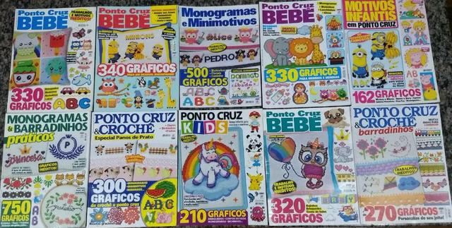 Revista Ponto Cruz - Nova - Kit 20 Revistas