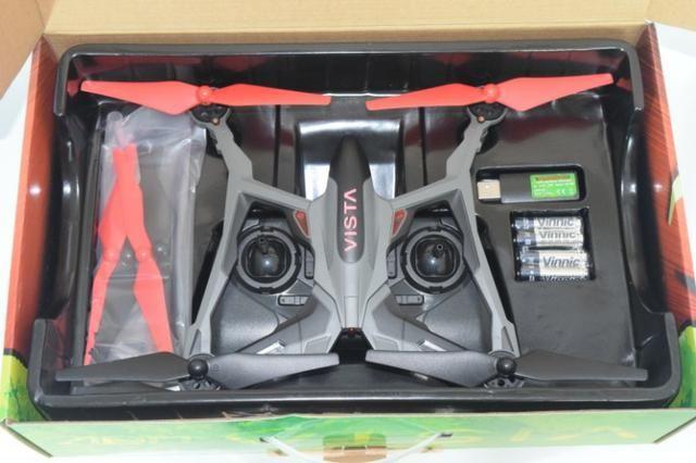 Quadricóptero Dromida Vista Uav Rtf Drone Dide 03rr Vermelho - Foto 3