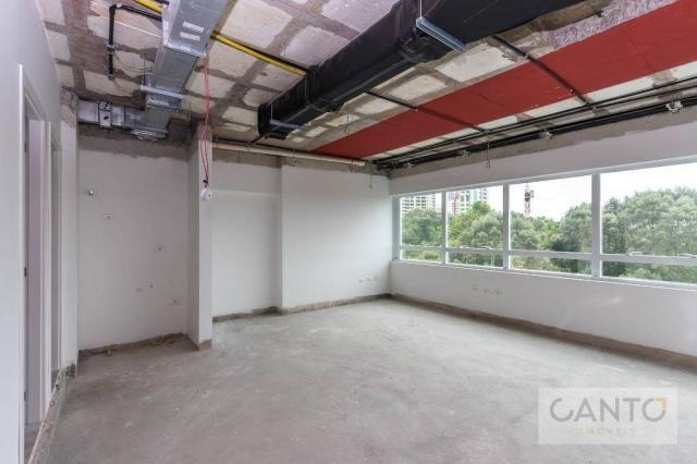 Laje/sala comercial para venda e locação no EuroBusiness, Ecoville, Curitiba - LEED Platin - Foto 9