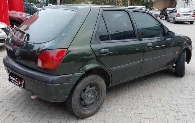 Fiesta GL Class 1.0 5P 2001 Verde - Foto 9
