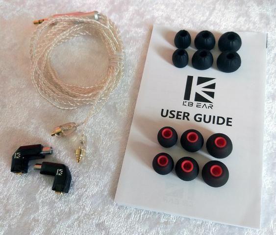 Fone Profissional Kb Ear F1 (retorno / Monitor / Mixagem) - Foto 5