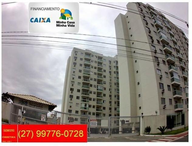 SCL - S5 - Apto 2 Qtos/Suíte Pronto para Morar em Manguinhos - Serra - Foto 3