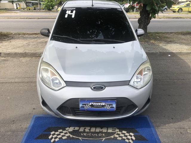 Fiesta hatch 1.0 Completo 2014 GNV