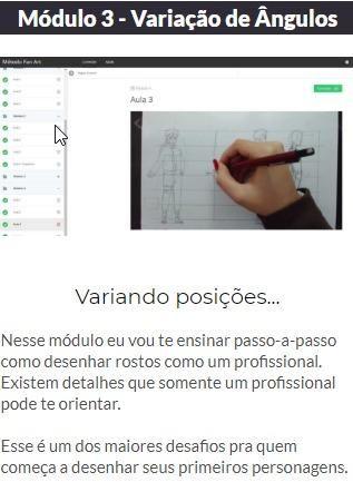 Curso de Desenho Método Fanart 2.0 ( Online ) - Foto 2