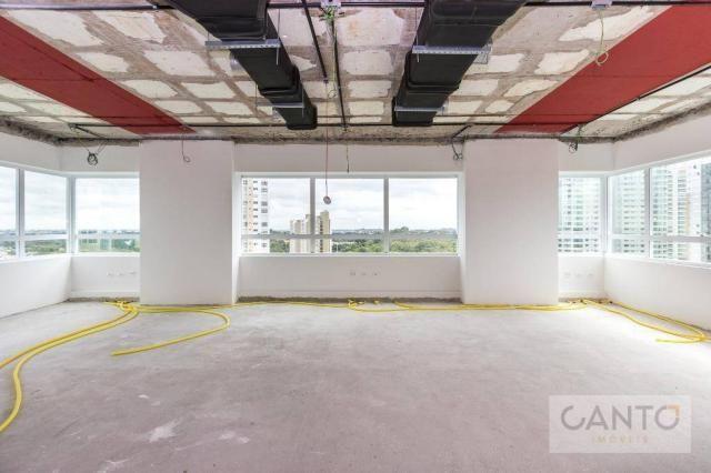 Laje/sala comercial para venda e locação no EuroBusiness, Ecoville, Curitiba - LEED Platin - Foto 17