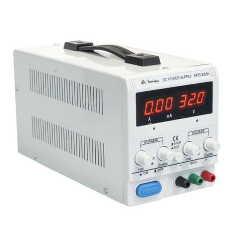 Fonte De Alimentação Dc 0-30v/0-5a/0-990ma Minipa Mps 3005a