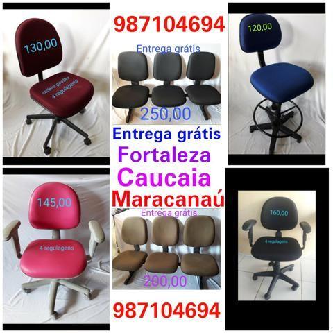 Cadeiras de escritórios vários modelos