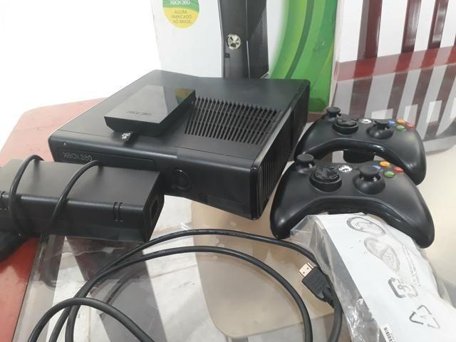 Xbox destravado + 35 jogos! aceito cartão - Foto 2