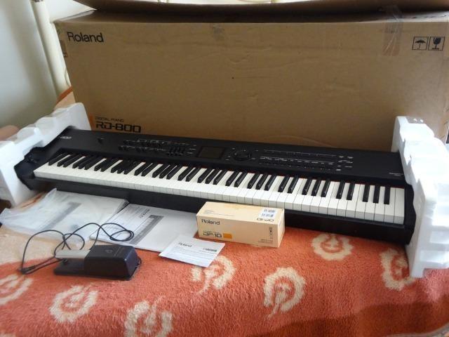 Piano Digital Roland RD 800 estudo troca - Foto 3