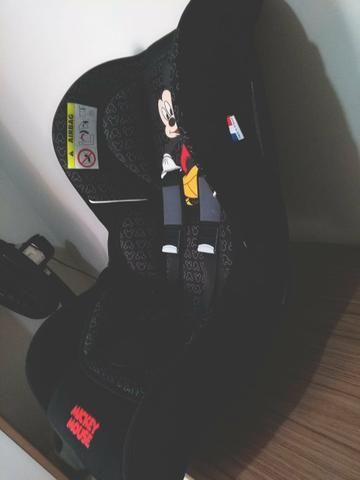 Cadeira auto Disney trio Mickey de 0 / 25 kg nova nunca usada com nota fiscal 200 reais