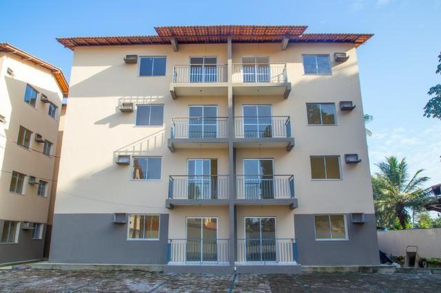 Lindo Apto residencial Itaoca com 55m²