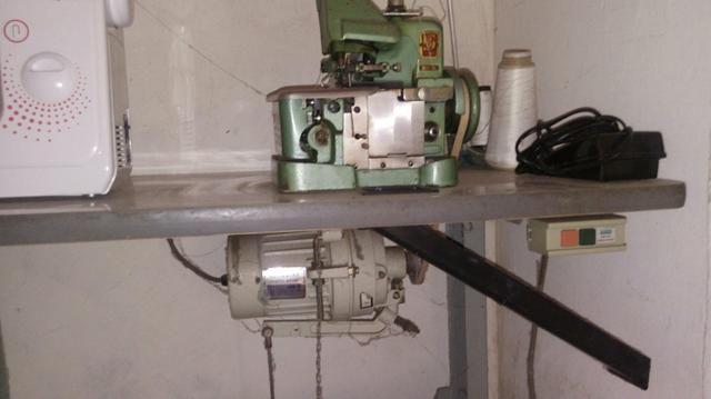 Prensa térmica + overlook semi industrial + maquina de de costura reta