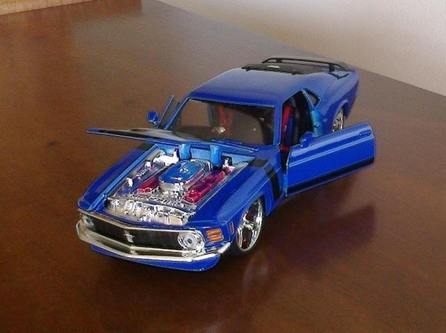 Mustang Boss 302 1970 Maisto Pro Rodz 1/24 - Foto 4