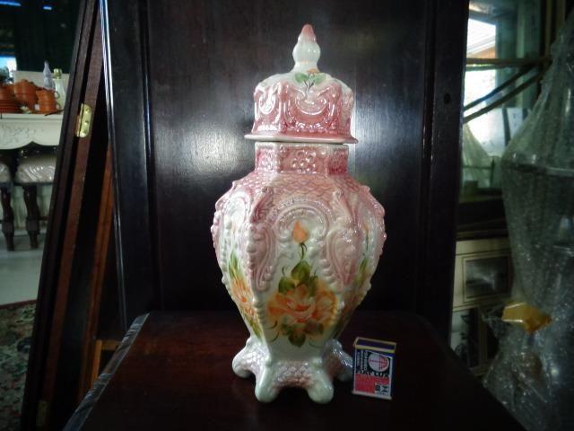 Porcelana antiga vaso potiche