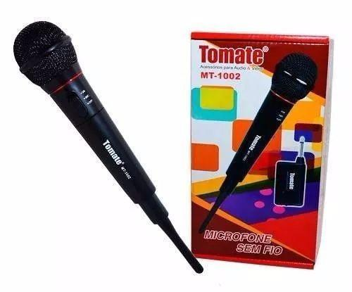 VMicrofone Sem Fio Profissional Tomate Mt-1002