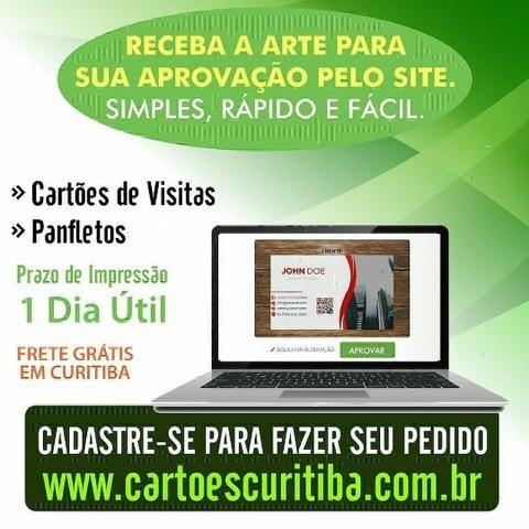 Promoção Cartão de Visitas - Criação da Arte+Impressão+Entrega Grátis
