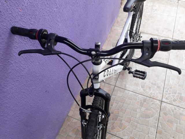 Bicicleta Colli Fulls GPS Aro 26 21 Marchas Suspensão Dupla 220 - Foto 5