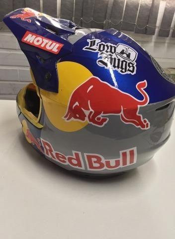 Capacete Red Bull - Foto 6