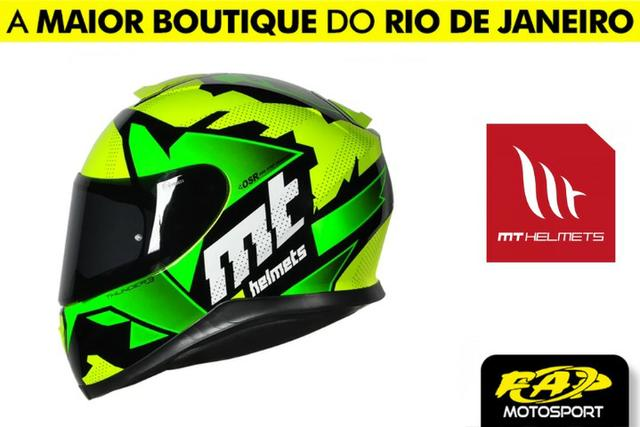 Capacete Mt Thunder 3 Torn Yellow-Green