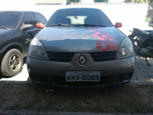 Renault Clio 2007 com detalhe esportivo - Foto 2