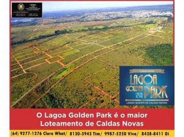 Lotes Parcelados área com 1.000 Mil metros - Lagoa Golden Park|Caldas Novas GO - Foto 2