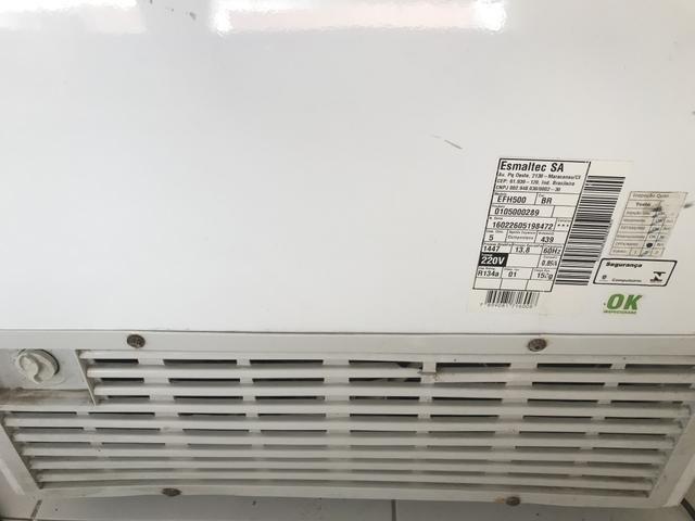 Freezer Esmaltec 2 portas 1.100,00 - Foto 5