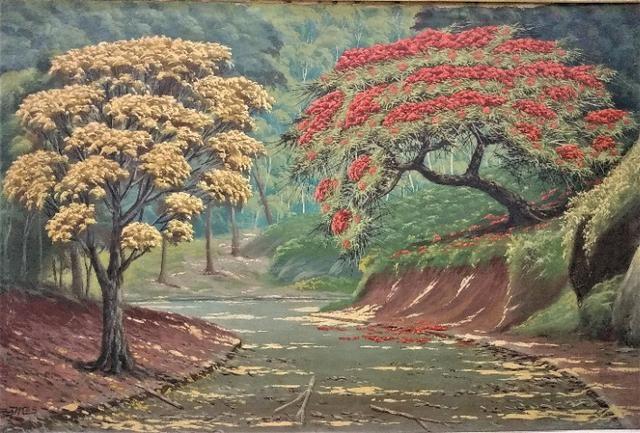 Quadro - Tema:Caminhos de Primavera, - Foto 5