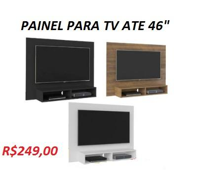 (Entrega+Montagem+Instalação)Lindo Painel Com Nichos Ate TV de 46 Apenas 249,00