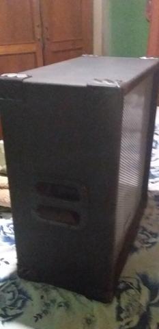 Caixa de som excelente para igreja semi nova valor 200 - Foto 4