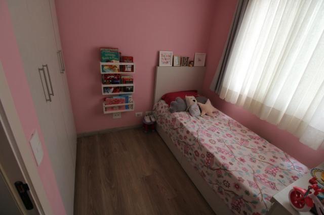 Capão Raso 3 dormitórios churrasqueira a carvão em condomínio Club - Foto 14