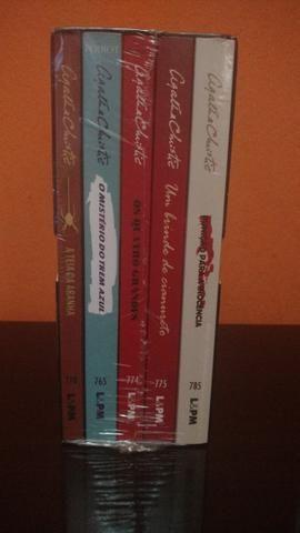 Box Agatha Christie - Lacrado com 5 livros