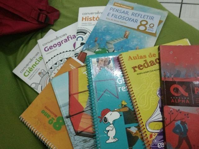 Livros diversos - 8° ano