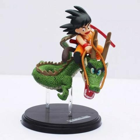 Figure Action Dragon Ball Goku Shenlong - Aceito cartão