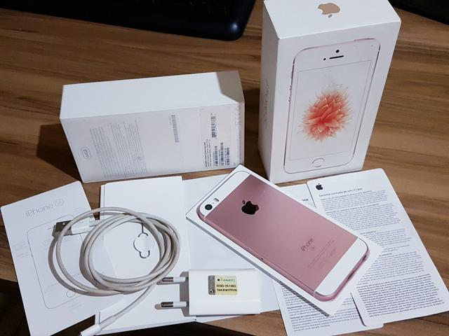 IPhone SE 64gb ouro rosê