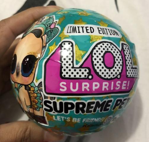 LOL Surprise Supreme Pet - Boneca Edição Limitada
