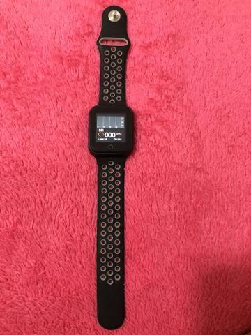 48267e4b2aa Relógio Smartwatch OLED Pró Série 2 - Android ou iOS - Bijouterias ...