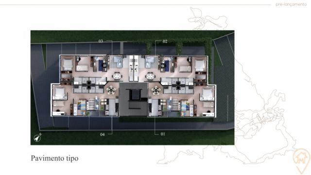 Apartamento à venda com 3 dormitórios em Bom jesus, Sao jose dos pinhais cod:90010.044 - Foto 5