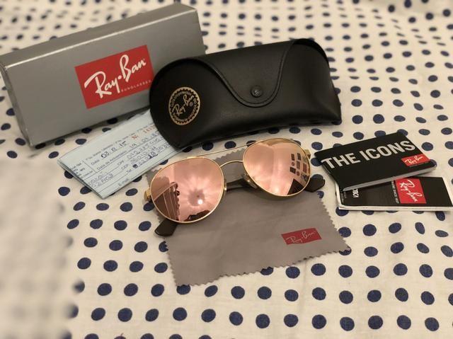 be55ec5c0 Ray-Ban espelhado Rosê / Original - Bijouterias, relógios e ...