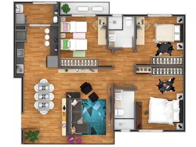 Apartamento à venda com 2 dormitórios em Costa e silva, Joinville cod:V52002 - Foto 6