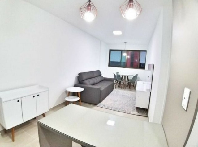 Apartamento quarto e sala mobiliado Edf. Le Grand - 42M² - Foto 13
